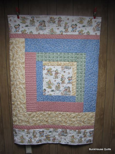Western Baby Quilt by Quilting In The Bunkhouse Retro Western Baby Quilt