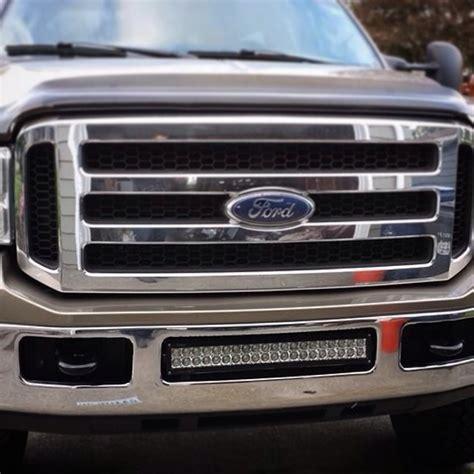 Bumper Brackets For 20 Quot Led Light Bars 05 07 Ford F250 Led Light Bar