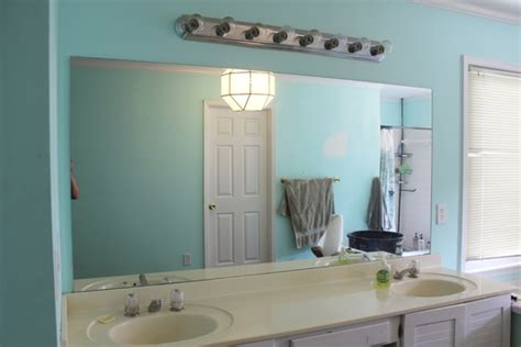 large frameless bathroom mirror mirror ideas hang a