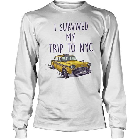 T Shirt Nyc Is My i survived my trip to nyc shirt spider homecoming