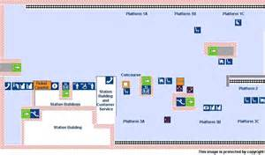Stansted Airport Floor Plan by National Rail Enquiries