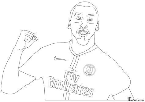 Coloriage Zlatan Ibrahimovi 224 Imprimer Et Colorier Coloriage De Neymar A Imprimer Gratuit L