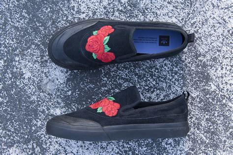 Adidas Slip On Smith na kel smith x adidas matchcourt slip roses sneaker bar