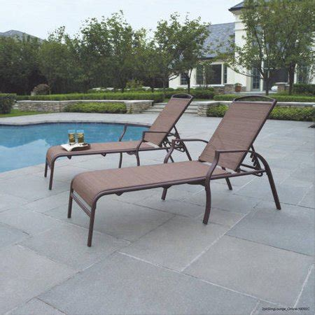 mainstays sand dune outdoor chaise lounges set   walmartcom