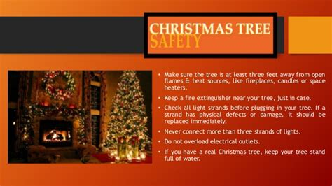 free christmas tree safety tips safety tips