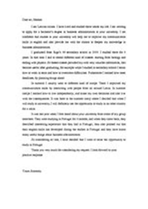 Motivation Letter Bachelor Motivation Letter Sles Cv Id 878684