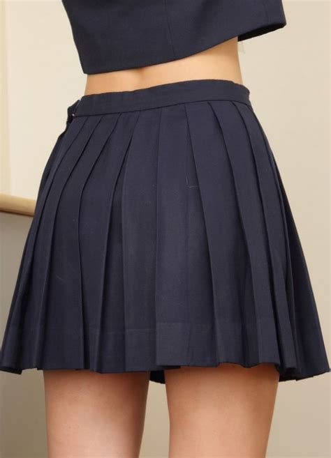 25 best ideas about black pleated skirt on