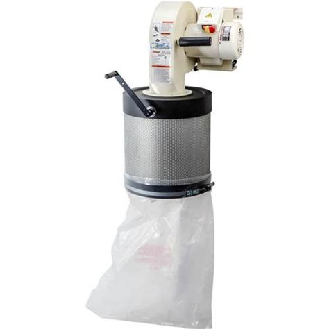 grizzly wall mount dust collector  canister filter