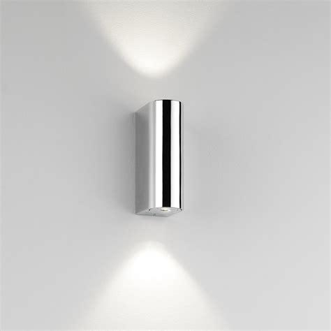 Bathroom Wall Light Fittings Astro Lighting Alba 2 Light Led Bathroom Wall Fitting In Polished Chrome Finish Astro Lighting