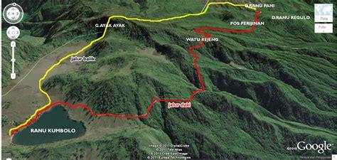 Jalur Pendakian Gunung Semeru   naik gunungnaik gunung