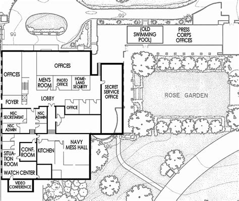 wh floor plan west wing white house museum