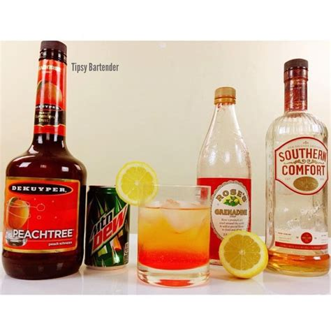southern comfort coctails drink recipes with southern comfort