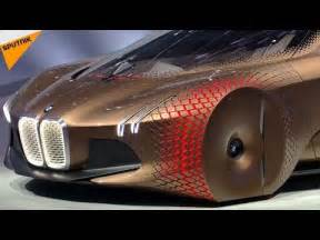when is change on new car vision next 100 bmw unveils shape shifting self driving