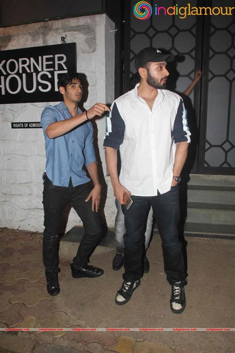 Celebrities Snaped At Restro Bar The Korner House Bandra