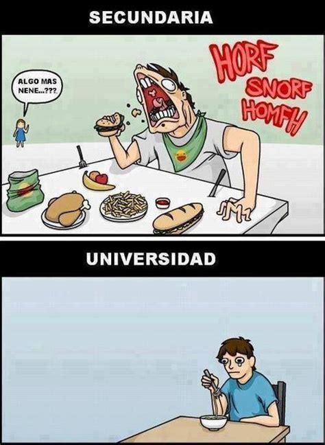 imagenes graciosas universidad comer en la secundaria y en la universidad 161 que jalada