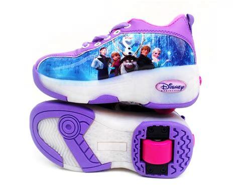 Sepatu Roda 4 Frozen detail sepatu roda frozen toko bunda the