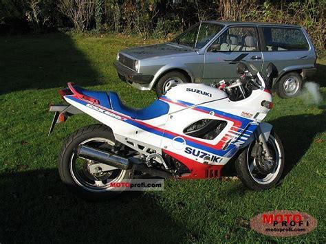 1991 Suzuki Gsx600f Suzuki Gsx 600 F 1991 Specs And Photos