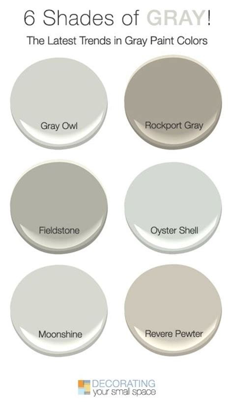 shades of grey paint 1000 ideas about benjamin gray on