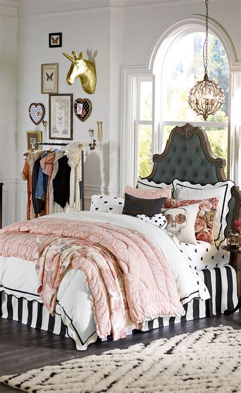 divine teen bedroom designs  vintage style
