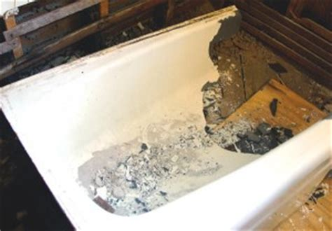 remove cast iron bathtub how to remove a cast iron bathtub