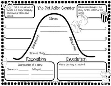 elements of a biography graphic organizer 25 best ideas about plot activities on pinterest