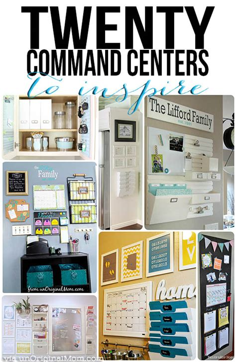 Kitchen Organization Ideas Pinterest 20 command center ideas to inspire unoriginal mom