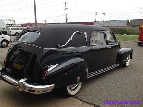 1948 cadillac a j miller landau hearse hearse for sale