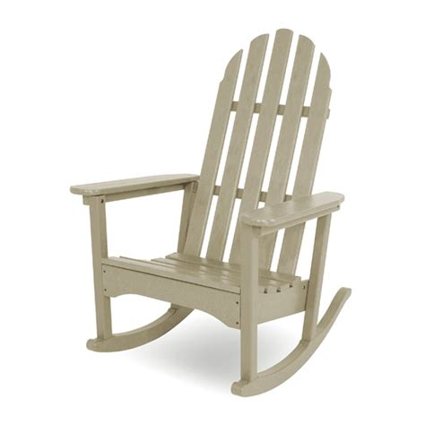 polywood outdoor furniture reviews polywood 174 classic adirondack rocker adrc 1