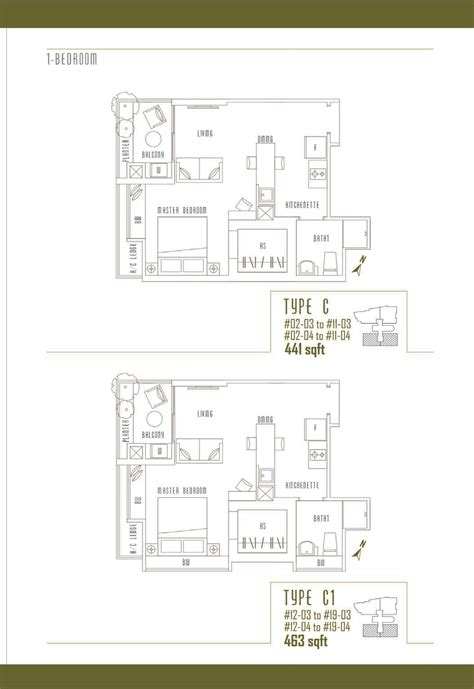 one devonshire floor plan 1 bedroom illuminaire