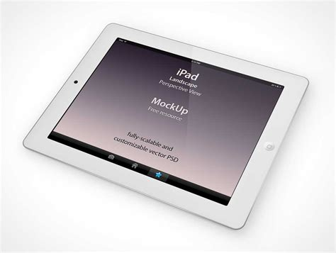 tablet template psd tablet psd mockups