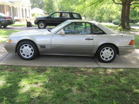 how things work cars 1995 mercedes benz s class interior lighting sell used 1995 mercedes benz sl500 81k original miles options galore everything works in