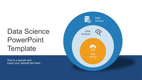 science template powerpoint data science shapes powerpoint template slidemodel