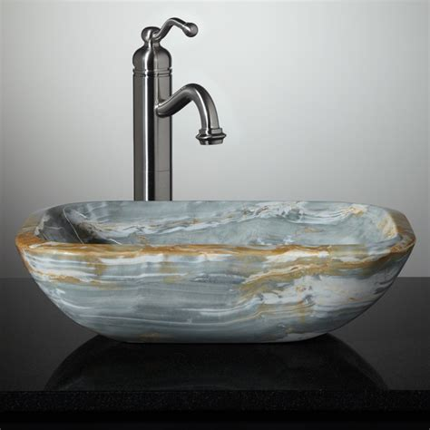 New Stone Vessel Sinks Bathroom Sinks Cincinnati By