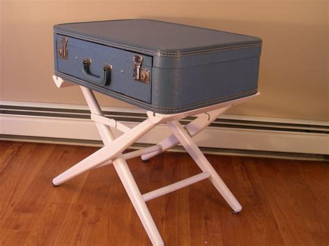 suitcase drawers uk suitcase table with drawer by destinations vintage