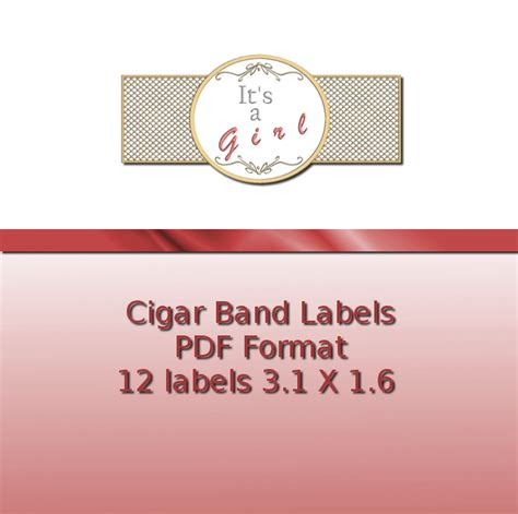 printable cigar label template cigar band labels ashlisoapblog