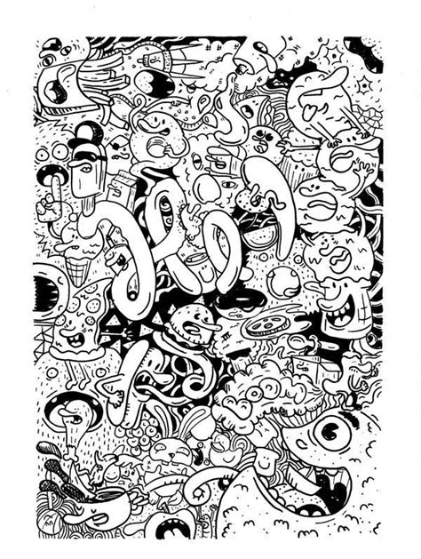 junk food coloring book totally coloring book volume 8 books food doodles by misael m 233 ndez doodles drawings