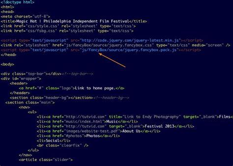 tutorial dreamweaver jquery how to use fancybox страницы интернета