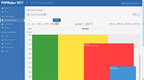 bootstrap layout vertical center bootstrap event calendar phpsourcecode net