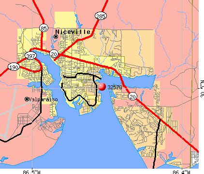 map of niceville florida map of niceville florida area pictures to pin on