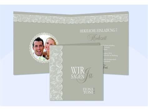 Hochzeit Einladungskarten Spitze by Hochzeitskarte Hochzeitseinladung Einladung Hochzeit