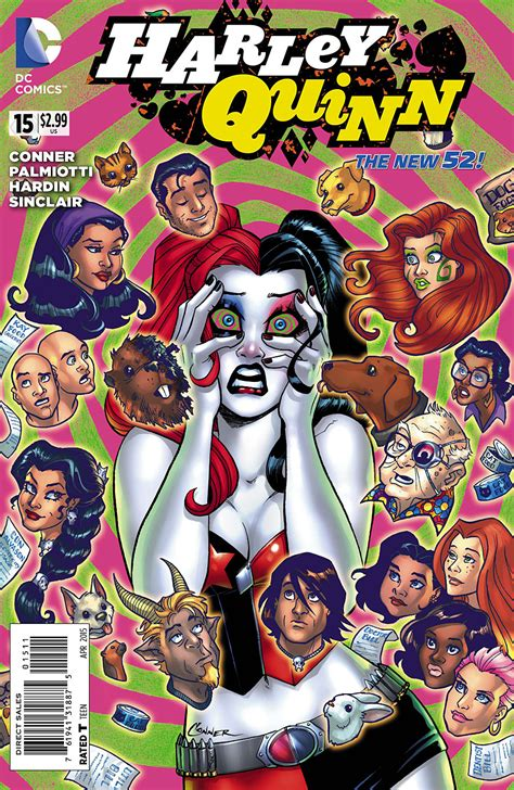 harley quinns cover gallery 1401274234 harley quinn vol 2 15 dc database fandom powered by wikia