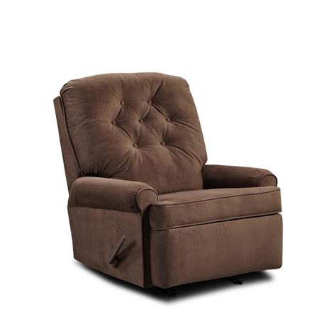sears outlet recliners simmons upholstery 241 recliner satisfaction chocolate