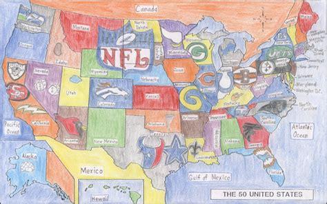 nfl usa map artwork pro football critics