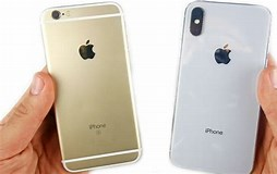 Image result for iPhone 6 Vs X Size