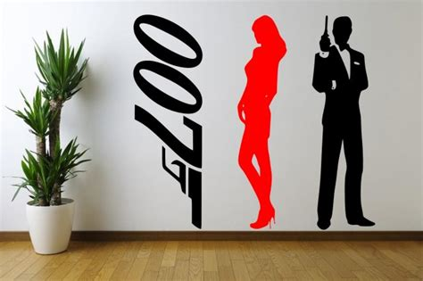 Decor Bond by Bond Set Of 3 Stickers Large Wall Decoration