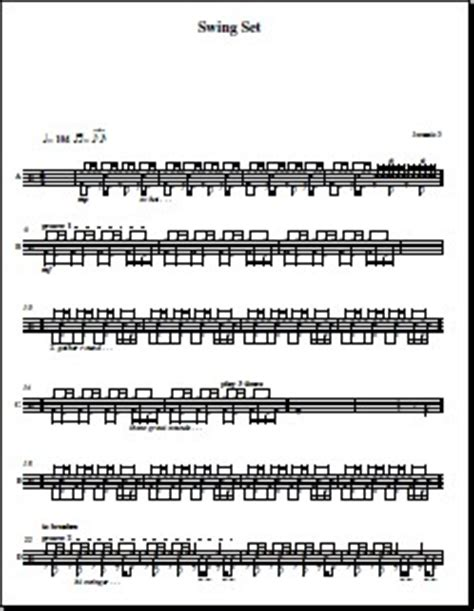 swing drum solo swing drum set patterns over 100 free patterns