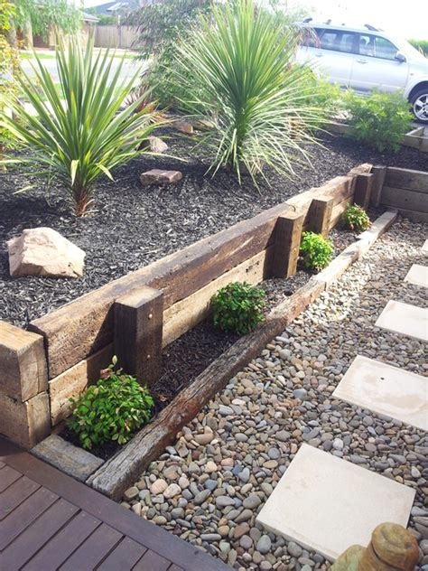 Price Of Sleepers For Gardens by Railway Sleepers As Retaining Wall Search