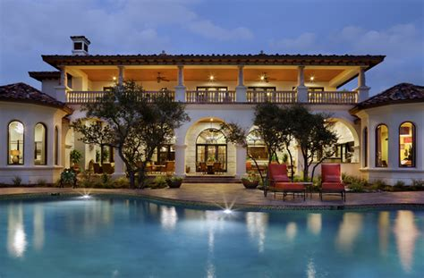 House Plans With Great Kitchens spanish oaks hacienda mediterranean pool austin by