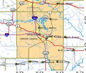 johnson county map johnson county iowa detailed profile houses real