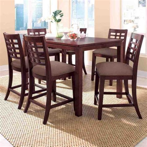 high top table set high top dining set and chairs home furniture design
